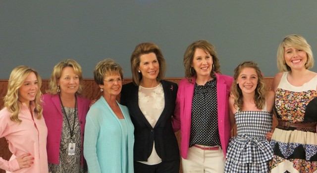 Komen Nebraska welcomed Nancy Brinker, Founder and CEO of Susan G. Komen, to Omaha