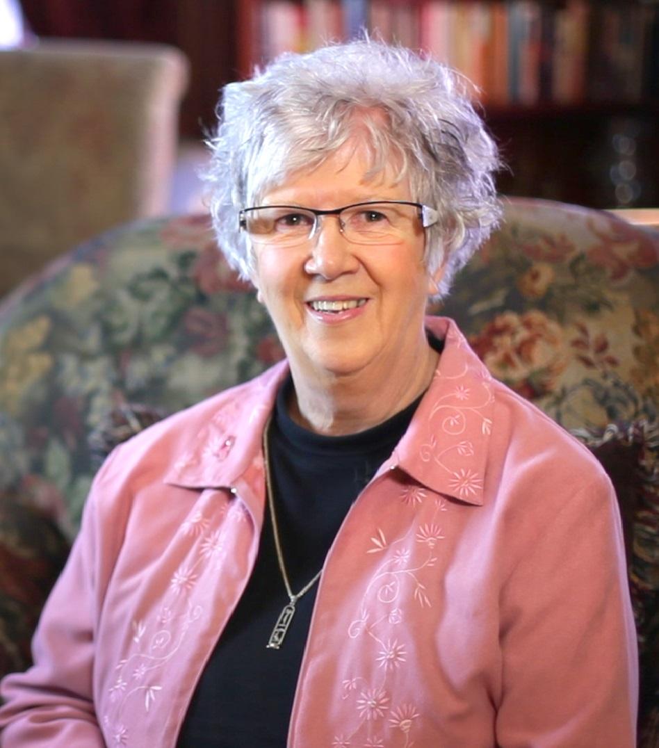 Linda Gill shoulders